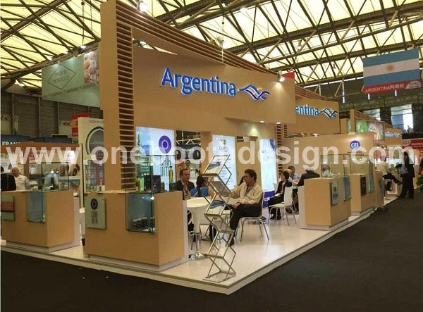 SIAL China trade show exhibition stand design