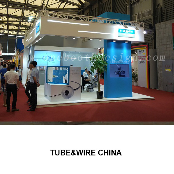 Wire&Tube China trade show exhibits design