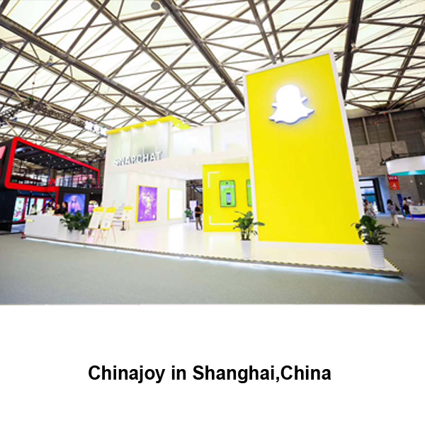 Chinajoy exhibition stand fabrication and booth design