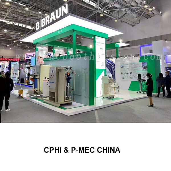 CPHI& P-MEC China exhibition stand builder
