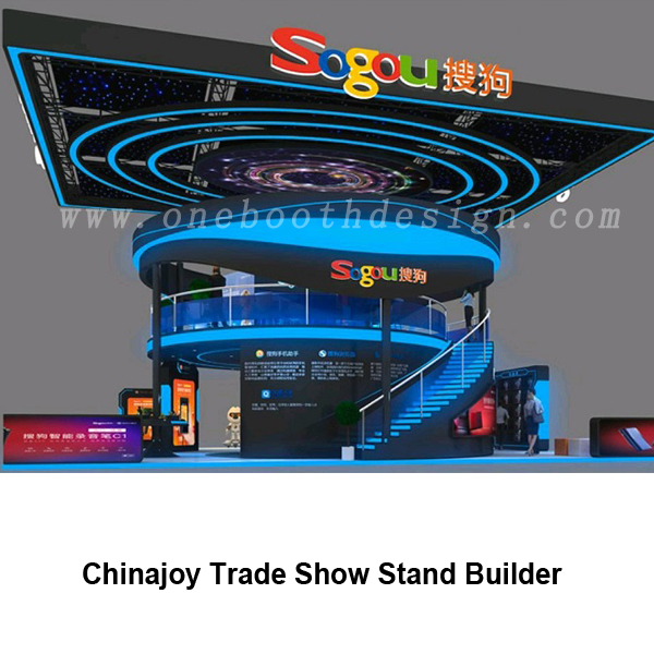 Chinajoy exhibition booth construction